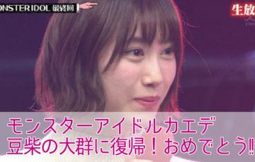 モンスターアイドルカエデが復活!?プロフィールと経歴を紹介!