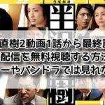 半沢直樹2最終回見逃し無料動画の視聴方法!動画共有サイトで見るのは危険?