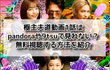 極主夫道 動画 1話 pandora 9tsu 無料視聴