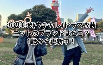 浜辺美波 ウチカレ ドラマ 衣装 ニット ブランド どこ 1話