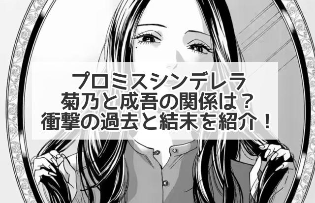 プロミスシンデレラ 菊乃 成吾 関係 過去 結末